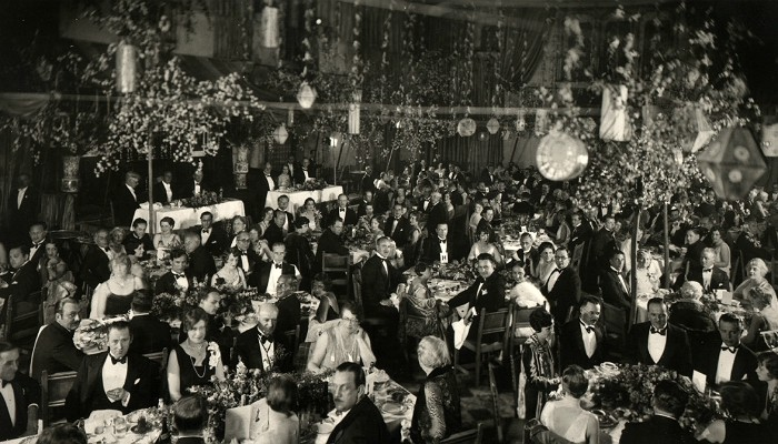 Fatal attraction The first Academy Awards in 1929. Wikimedia Commons
