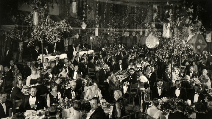 The first Academy Awards in 1929. Wikimedia Commons