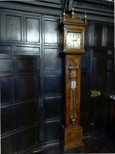 The Reading Room clock, Chetham's Library