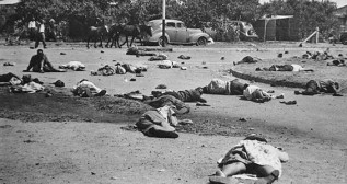 The aftermath of the Sharpeville Massacre. Wikimedia Commons