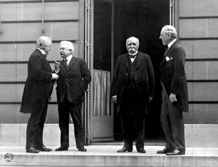 4 Big Four at the WWI Paris Peace conference