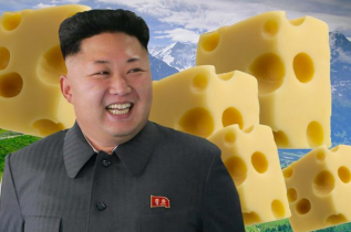 Let Kim Eat (Cheese) Cake. Courtesy of Daily Mirror, 17 September 2014