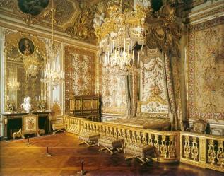 Queens bedchamber, Palace of Versailles