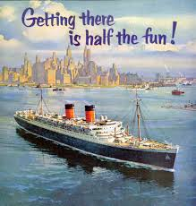 Cunard History Photo 1-Getting There