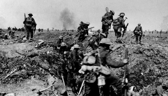 The Battle Of The Somme Photo via telegraph.co.uk