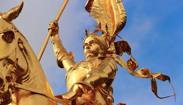 Joan of Arc and the Hundred Years' War Photo via Flickr