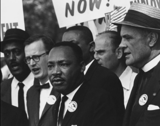 Martin Luther King, The March on Washington 1963. Photo via Wikicommons.com