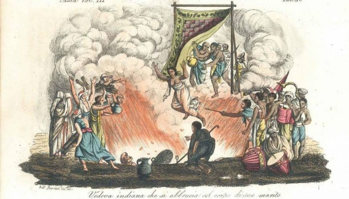 Abolition Of Widow Immolation In India Photo via Ranker