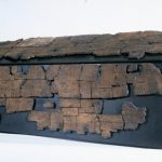 St Cuthbert's Coffin: Devotion in Runic and Roman Lettering, by Catrin Haberfield
